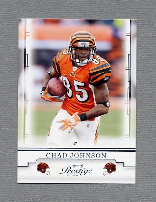 2008 Playoff Prestige Football #022 Chad Johnson - Cincinnati Bengals