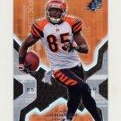 2007 SPx Football #021 Chad Johnson - Cincinnati Bengals