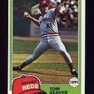 1981 Topps Baseball #220 Tom Seaver - Cincinnati Reds
