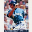 1995 Fleer Baseball Major League Prospects #10 Alex Rodriguez RC - Seattle Mariners