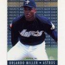 1995 Fleer Baseball Major League Prospects #09 Orlando Miller - Houston Astros