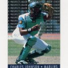 1995 Fleer Baseball Major League Prospects #08 Charles Johnson - Florida Marlins