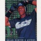 1995 Fleer Baseball Major League Prospects #06 Brian L. Hunter - Houston Astros
