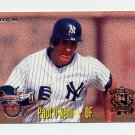 1995 Fleer Baseball All-Stars #18 Paul O'Neill - New York Yankees / Dante Bichette Colorado Rockies