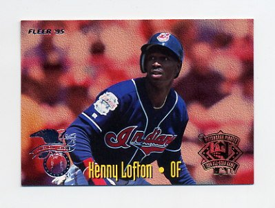 1995 Fleer Baseball All-Stars #16 Kenny Lofton - Indians / Moises Alou - Expos
