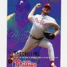 1995 Fleer Baseball #403 Curt Schilling - Philadelphia Phillies
