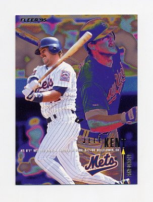 1995 Fleer Baseball #373 Jeff Kent - New York Mets