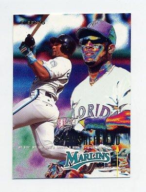 1995 Fleer Baseball #342 Gary Sheffield - Florida Marlins