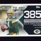 2008 Topps Football Brett Favre Collection #BF385 Brett Favre - Green Bay Packers
