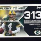 2008 Topps Football Brett Favre Collection #BF313 Brett Favre - Green Bay Packers