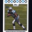 2008 Topps Football #348 Jonathan Stewart RC - Carolina Panthers