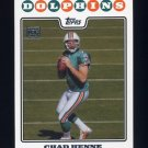 2008 Topps Football #334 Chad Henne RC - Miami Dolphins