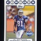2008 Topps Football #302 Terrell Owens PB - Dallas Cowboys