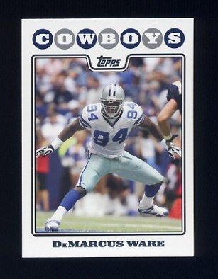 2008 Topps Football #228 DeMarcus Ware - Dallas Cowboys
