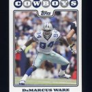 2008 Topps Football #228 DeMarcus Ware - Dallas Cowboys