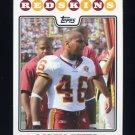 2008 Topps Football #107 Ladell Betts - Washington Redskins