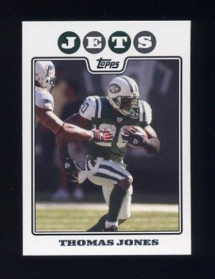 2008 Topps Football #068 Thomas Jones - New York Jets