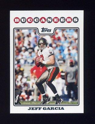 2008 Topps Football #025 Jeff Garcia - Tampa Bay Buccaneers