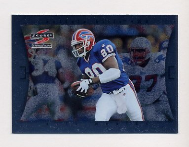 1997 Score Football Showcase #061 Eric Moulds - Buffalo Bills