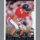 1997 Score Football #297 James Farrior RC - New York Jets