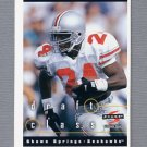1997 Score Football #296 Shawn Springs RC - Seattle Seahawks