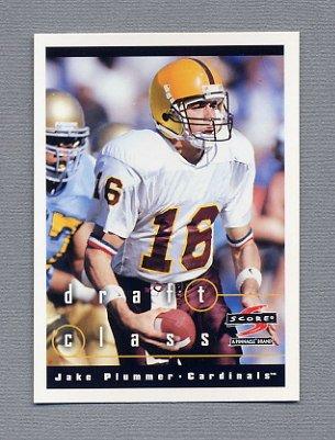 1997 Score Football #283 Jake Plummer RC - Arizona Cardinals