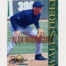 2000 Royal Rookies Baseball Futures Wall Street Alex Rodriguez #2 Alex Rodriguez - Seattle Mariners