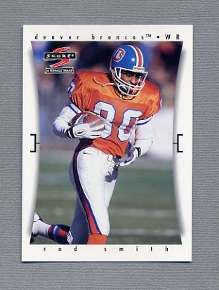 1997 Score Football #193 Rod Smith - Denver Broncos