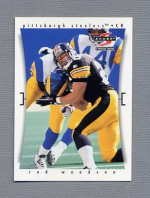 1997 Score Football #179 Rod Woodson - Pittsburgh Steelers