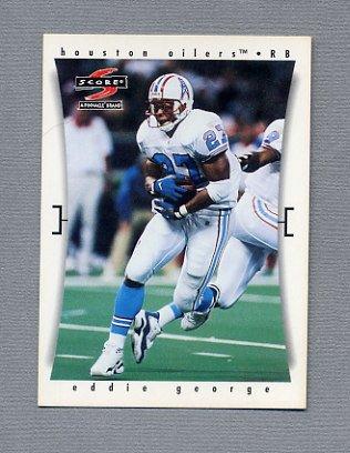 1997 Score Football #114 Eddie George - Houston Oilers