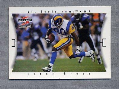 1997 Score Football #051 Isaac Bruce - St. Louis Rams