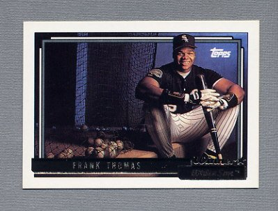 1992 Topps Baseball Gold Winners #555 Frank Thomas - Chicago White Sox