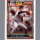 1992 Topps Baseball Gold Winners #395 Tom Glavine AS - Atlanta Braves