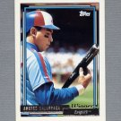 1992 Topps Baseball Gold Winners #240 Andres Galarraga - Montreal Expos