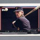 1992 Topps Baseball Gold Winners #141 Jim Leyland MG - Pittsburgh Pirates