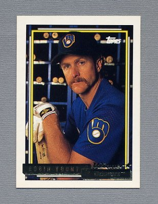 1992 Topps Baseball Gold Winners #090 Robin Yount - Milwaukee Brewers