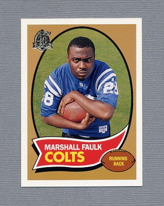 1996 Topps Football 40th Anniversary Retros #15 Marshall Faulk - Indianapolis Colts