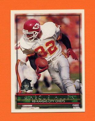 1996 Topps Football #365 Marcus Allen - Kansas City Chiefs
