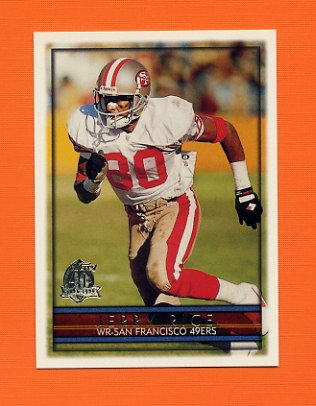 1996 Topps Football #270 Jerry Rice - San Francisco 49ers