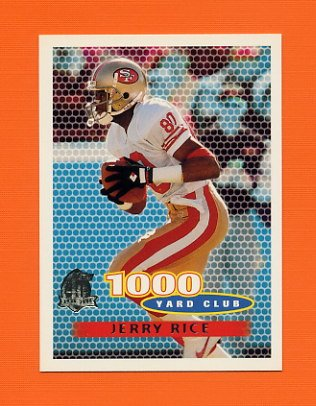 1996 Topps Football #241 Jerry Rice TYC - San Francisco 49ers