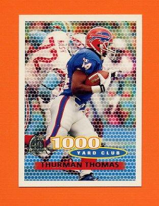 1996 Topps Football #136 Thurman Thomas TYC - Buffalo Bills