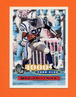 1996 Topps Football #132 Marshall Faulk TYC - Indianapolis Colts