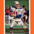 1996 Topps Football #110 Drew Bledsoe - New England Patriots
