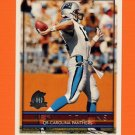 1996 Topps Football #050 Kerry Collins - Carolina Panthers