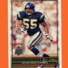 1996 Topps Football #010 Junior Seau - San Diego Chargers