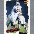 1996 Score Football #250 Troy Aikman SE - Dallas Cowboys