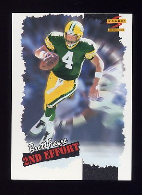 1996 Score Football #245 Brett Favre SE - Green Bay Packers