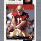 1996 Score Football #239 Danny Kanell RC - New York Giants
