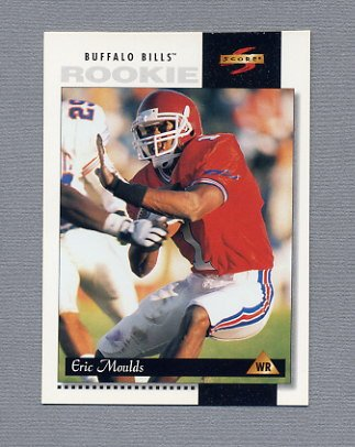 1996 Score Football #220 Eric Moulds RC - Buffalo Bills