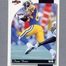 1996 Score Football #048 Isaac Bruce - St. Louis Rams